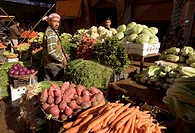 Vegetable market, Deir Ez Zor, Syria