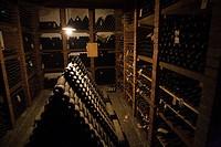 Wine cellar, Castello di Verrazzano, Greti, Italy