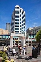 Westlake Center, Seattle, Washington State, USA