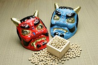 Devil's Mask and Soy Bean