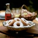 Potato pastry rings
