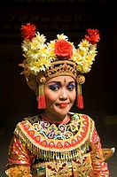 Legong dancer, Ubud, Bali, Indonesia