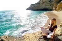 Paraiso beach, Carvoeiro, Algarve, Portugal, Europe