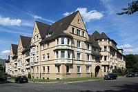 D-Essen, Ruhr area, North Rhine-Westphalia, D-Essen-Holsterhausen, Friedrich Alfred Krupp, workmens dwellings, working-class housing estate, Krupp col...