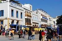 Morocco, Essaouira, Moulay Hassan Square