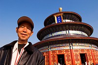 China, Beijing, Temple of Heaven or Tian Tan listed as World Heritage by UNESCO, hall of prayer for good harvest