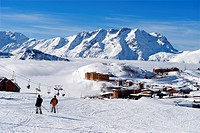 France, Isere, L´Alpe d´Huez, ski resort