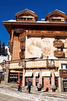 France, Savoie, Courchevel 1850, La Loze 3 star Hotel