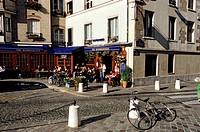 France, Paris, rue de la Montagne Sainte Geneviève