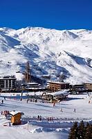 France, Savoie, Les Menuires, La Croisette
