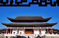 China, Yunnan Province, Lijiang, listed as World Heritage by UNESCO, Mu Palace
