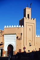 Morocco, Marrakesh, mosque in the Medina