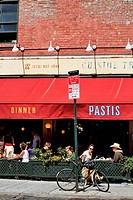 United States, New York City, Manhattan, Meatpacking district, Pastis french restaurant