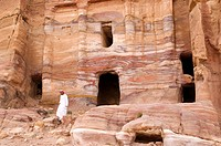 Jordan, Nabaean archeological site of Petra listed as World Heritage by UNESCO
