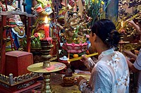 Vietnam, An Giang Province, Mekong Delta region, Chau Doc town, Tay An pagode