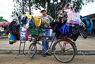 Venezuela, Nueva Esparta State, Margarita Island, Pampatar, itinerant dealer