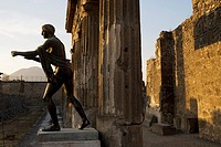 Italy, Campania, Pompei, archeological site listed as World Heritage by UNESCO, the Apollo Temple