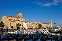 France, Bouches du Rhone, La Ciotat, the port