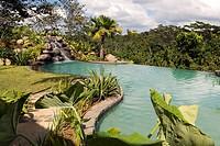 Costa Rica, Alajuela Province, north centre area, Tirimbina reserve, Centro Neotropico Sarapiqui´s resort hotel, ecotouristic hotel