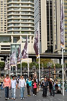 Australia, New South Wales, Sydney, Circular Quay, walkers