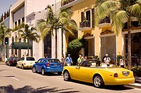 United States, California, Los Angeles, Beverly Hills, Rodeo Drive