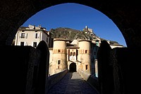 France, Alpes de Haute Provence, Entrevaux Medieval city fortified by Vauban, Citadel