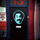 Richard Pryor shop door, Brighton West Sussex
