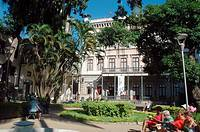 Rio de Janeiro (Brazil): Museu da República (Museum of the Republic) in the Palacio do Catete