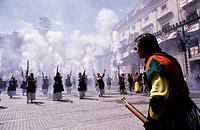 Moors and Christians Festival Alcoy Alicante province Spain
