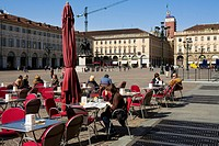 Italy, Piedmont, Turin, Piazza San Carlo