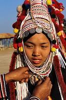 Thailand, Chiang Mai, ethnie Akha