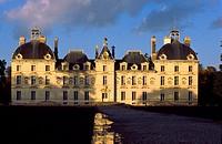 France, Loir et Cher, Chateau de Cheverny with Classic Style