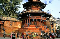 Nepal, Kathmandu Valley, listed as World Heritage by UNESCO, Kathmandu, Durbar square main square