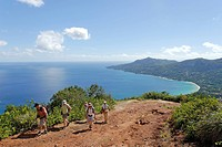 Seychelles, Mahe Island, hiking in the heart of the Morne Seychellois National Park