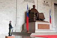 Taiwan, Taipei, National Chiang Kai_shek Memorial Hall erected in memory of Chang Kai_shek, former President of the Republic of China which has establ...