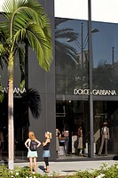 United States, California, Los Angeles, Beverly Hills, Rodeo Drive, Dolce & Gabbana store