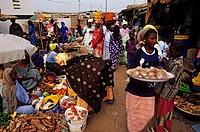 Senegal, Petite Cote, Mbour, Market