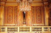 France, Yvelines, Chateau de Versailles, listed as World Heritage by UNESCO, King´s room