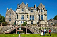 Torosay Castle, Isle of Mull, Inner Hebrides, Scotland, UK