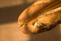 Close_up of breads