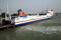 Stena Trader freight ferry, Stena Line, Hook of Holland, Holland