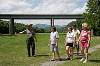 Virginia, Appalachian Mountains, Blue Ridge Parkway, All-American Road, National Scenic Byway, James River and Kanawha Canal, Milepost 63, Visitor Cen...