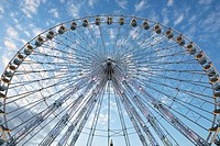 Ferris wheel on the Place de la Concorde, Paris, France