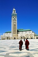 Morocco, Casablanca, the Hassan II Great Mosque