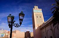Morocco Marrakesh The Kasbah Mosque (Mosquée Moulay el-Yazid)