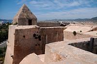 Walls, Ibiza, Balearic Islands, Spain
