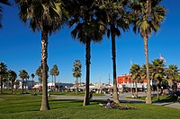 United States, California, Los Angeles, Venice Beach, Ocean Front Walk