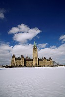 Canada, Ontario Province, Ottawa, Canadian Parliament Building
