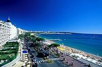 France, Alpes Maritimes, Cannes, le Croisette