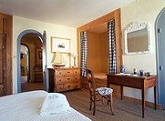 France, Charente Maritime, Ile de Re, Ocean hotel, bedroom
